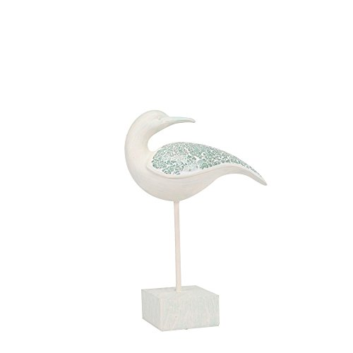 Ambitions Resin Glass Mosaic Seagull on Stand, 16.73