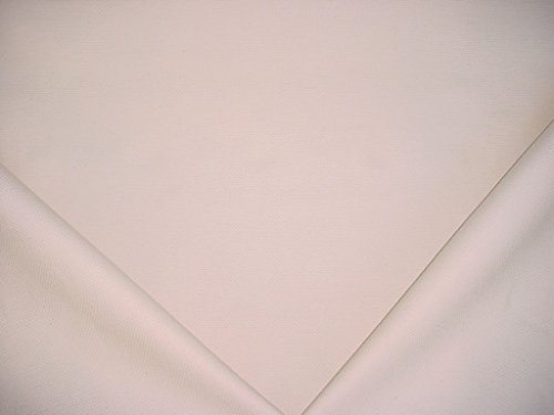 207H3 - Off White Durable Brushed Cotton Designer Upholstery Drapery Fabric - By the Yard ()