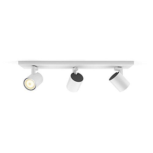 4 opinioni per Philips Hue White Ambiance Faretto LED Spot Runner, 5.5 W Equivalente a 50 W,