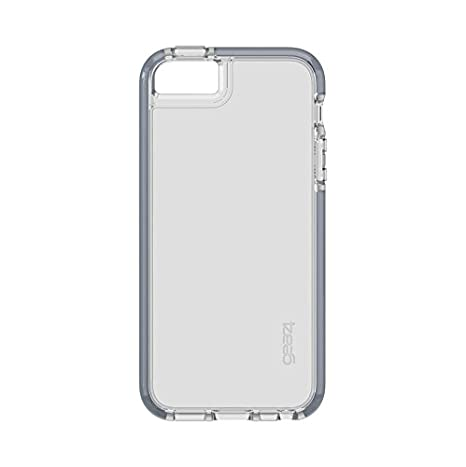 cheap for discount f5a72 a81dc Gear4 - IC5SE02D30 - Piccadilly Case for iPhone 5/5S/SE with D30 Impact  Protection - Grey