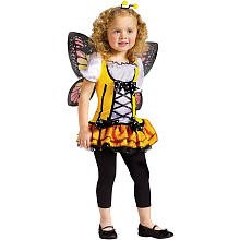 [Toddler Butterfly Princess, Small (24 Months-2T)] (Butterfly Halloween Costumes Ideas)