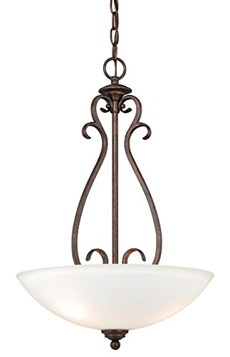 Vaxcel P0152 Hartford 3 Light Pendant, Weathered Patina ()