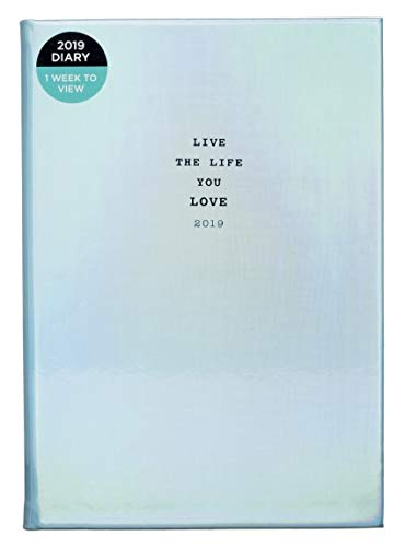 WHSmith 2019 - Agenda semanal A5 Live The Life You Love ...