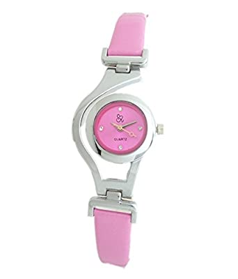 Buy Gobu Analog Formal Watch For Women Pink Online At Low Prices In India Amazon In