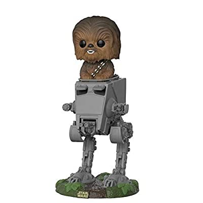 Funko POP! Deluxe: Star Wars - Chewbacca in at-ST Collectible Toy: Funko Pop! Deluxe:: Toys & Games