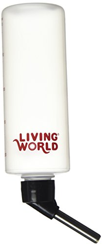 Cage Hagen Hamster (Living World Hamster Bottle, 8-Ounce, with hanger)