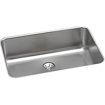 ada undermount kitchen sink elkay lustertone eluhad211555 single bowl undermount 3986