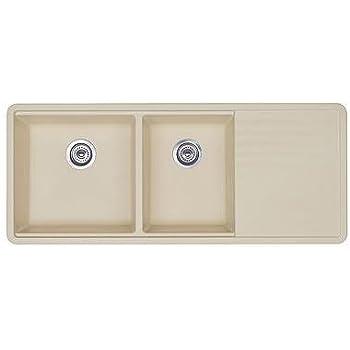 blanco 440410 prcis multi level 1 34 bowl with drainer white. beautiful ideas. Home Design Ideas