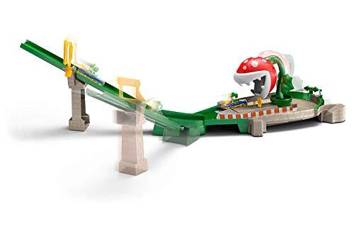 Hot Wheels Hw Mario Kart Piranha Set (Best Mario Kart Tracks)