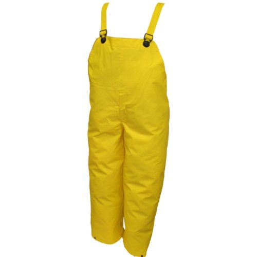 Tingley Rubber O56007 Dura Scrim Plain Front Overalls, XX-Large, Yellow