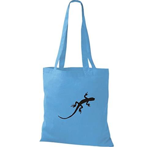 Surf Algodón De Tela Bolso Mujer Para Shirtinstyle Blue zqvRwSY