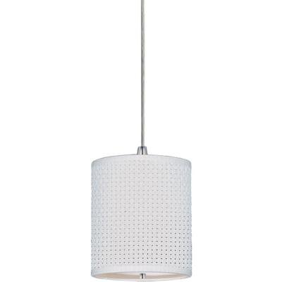 Satin Nickel 1 Light Rapidjack Mini Pendant From The Elements Collection E95050-100SN ()