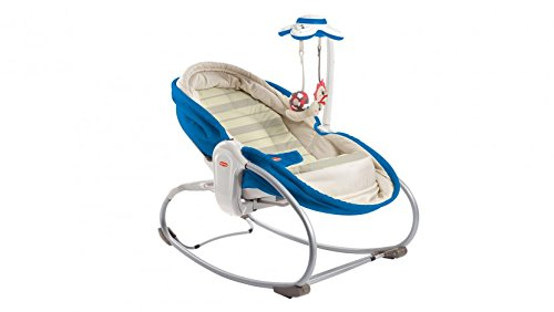 40 opinioni per Tiny Love 22218012 Rocker Napper Sdraietta 3 in 1, Blu