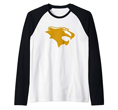 Georgian Court University Lions NCAA PPGCTU04 Raglan Baseball Tee ()