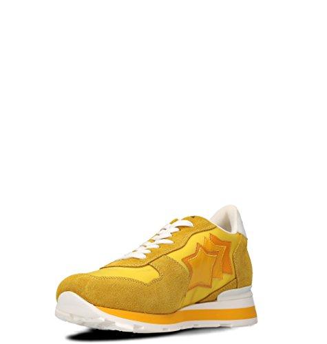 Atlantic Stjerner Herre Antargs36b Gelb Leder Sneakers YN6KA0