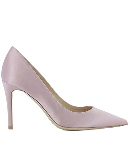 Deimille Women's 3104091LR Pink Leather Pumps