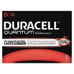 Duracell Quantum Alkaline Batteries with Duralock Power Preserve Technology, D, 72/Pk by Duracell (Image #1)