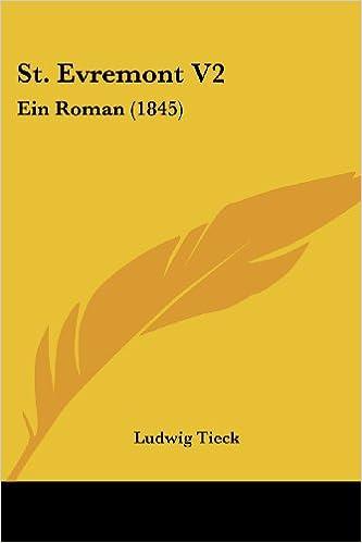St. Evremont V2: Ein Roman (1845)