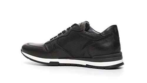 Nero Giardini - Zapatillas de Piel para hombre negro negro