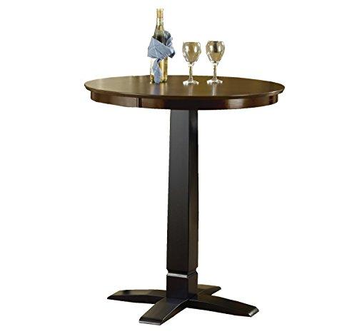 Hillsdale Dynamic Designs Pub Table in Black