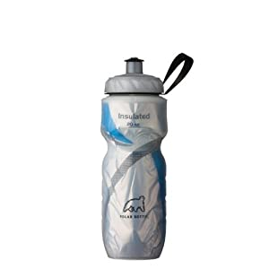 Polar Bottle Insulated Water Bottle (20-Ounce, Graphic Blue)