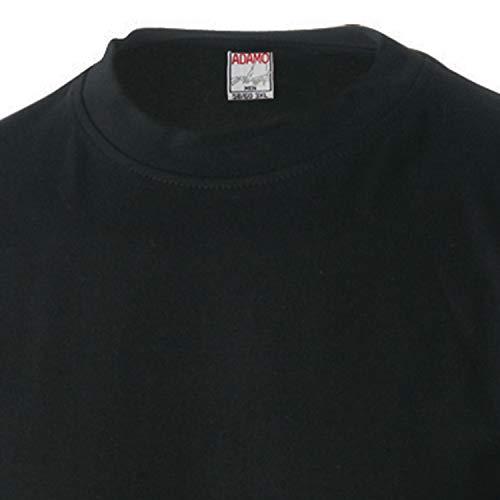 fino Confezione 12xl Marlon due shirt Adamo da di taglia alla T nera B7wnU