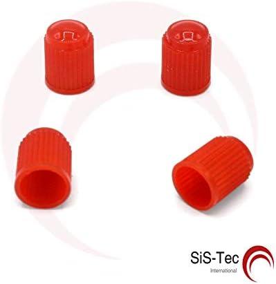 Tapones de válvula de plástico rojo – Válvulas para neumáticos ...