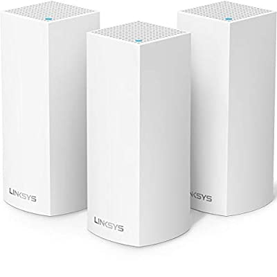 Linksys Velop IEEE 802.11ac Ethernet Wireless Router (Certified Refurbished)