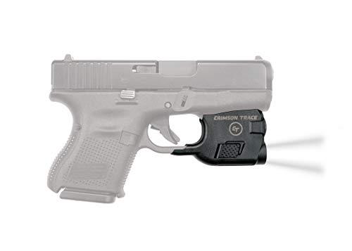 Crimson Trace Glock 26 & 27 Tactile Light, Black