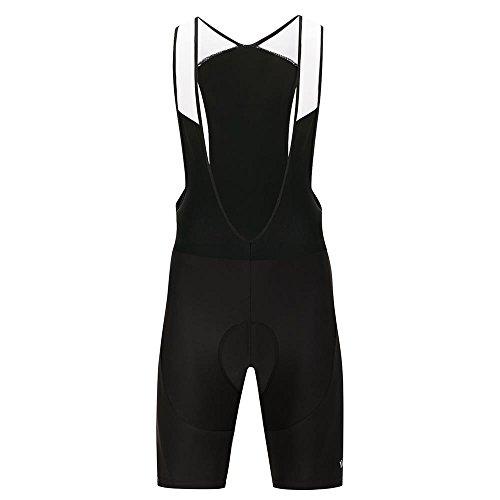 Pro 3D Padded Cycling Bib Pants Tights/Bib Shorts Reflective Bibs for Men Women Breathable (Pro Bib Tights)