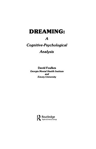Dreaming: A Cognitive-psychological Analysis