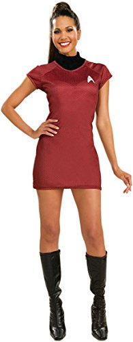 Star Trek Movie Deluxe Red Dress, X-Small Costume (Women Haloween Costumes)