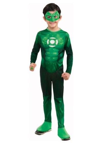 Green Lantern Child's Hal Jordan Costume - One Color - -