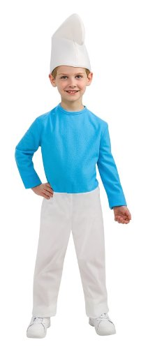 The Smurfs Movie 2 Smurf Costume, Large]()