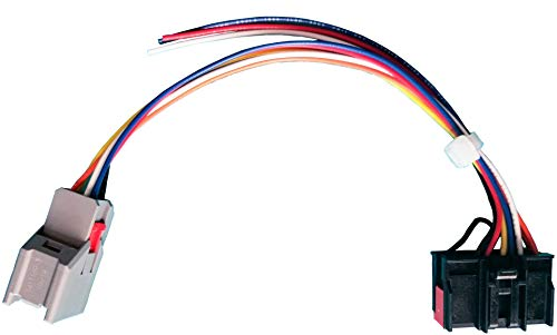tow mirrors conversion retrofit wiring harness compatible with ford f 150 8 pin to 22 pin for f150 trucks 2015, 2016, 2017 adapter pigtail cable Cherokee Wiring Harness