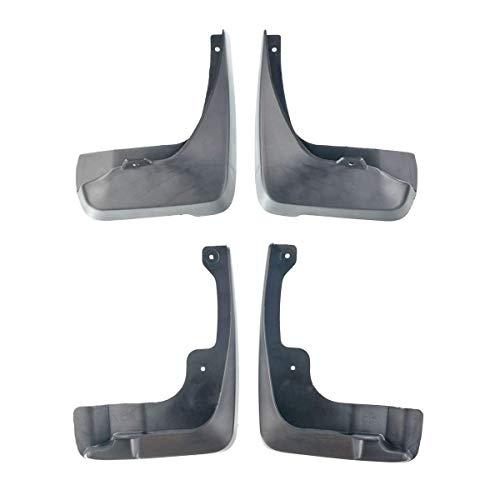 Set of 4 Mud Flaps Splash Guards for Toyota Camry 2007-2011 excluding SE Model ()