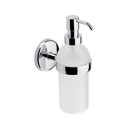 Lotion Dispenser from the Hotelier Collection, Polished Chrome (Hotelier Soap)