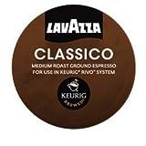 LAVAZZA ESPRESSO CLASSICO 108 PACKS (6 Boxes) for KEURIG RIVO R500