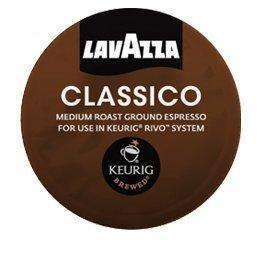 Lavazza Espresso Classico 90 Packs for Keurig Rivo System