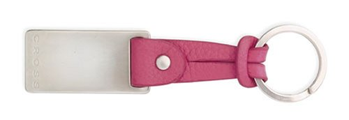 Cross Pink Leather Slip Tie Key Fob ()