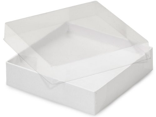 Compare price to clear lid gift box for Small cardboard jewelry boxes with lids