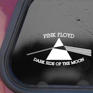 "Pink Floyd Dark Side of the Moon Vinyl Car Sticker Decal  5/"""