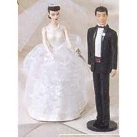 1997 Día de la boda Barbie y Ken Hallmark Ornamento