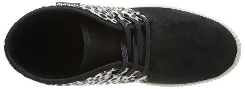 victoria Safari Tejido Print Animal Damen Stiefel & Stiefeletten Mehrfarbig - Multicolore (Negro)