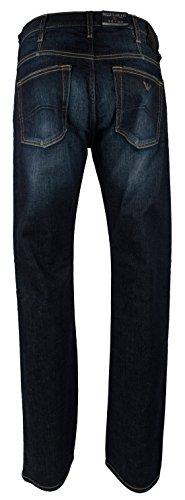 Armani Men's Regular Fit Stretch Jeans Pants-B-34Wx32L by GIORGIO ARMANI (Image #2)