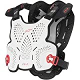 Alpinestars A1 Roost Guard - Adult/White/Black/Red