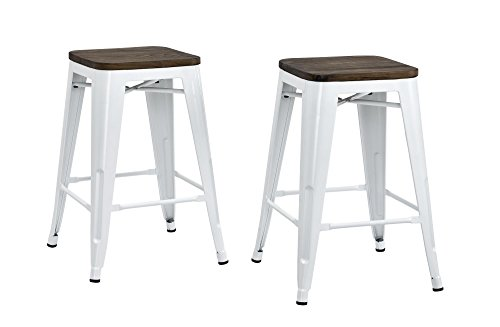 metal bar stools 24 inches - 3