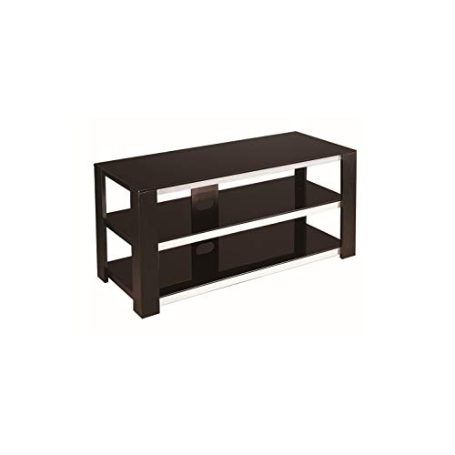 NSIUSA Arie Black TV Stand for TVs up to 42 ()