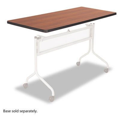 Impromptu Series Mobile Training Table Top, Rectangular, 48w x 24d, Cherry, Sold as 1 Each