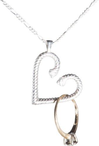Wedlock Heart Ring Holder Pendant